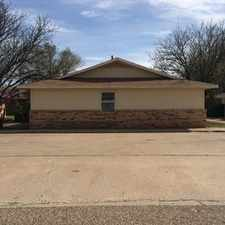 Rental info for 6113 37th Street - A in the Lubbock area