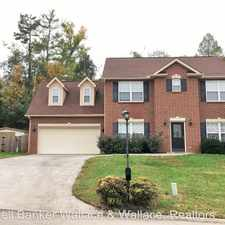 Rental info for 10829 Parkgate Lane in the Farragut area