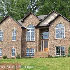 Rental info for 6421 Cambridge Road in the Trussville area