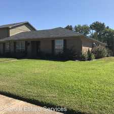Rental info for 8537 Grover in the 71105 area