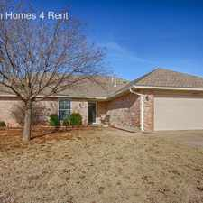 Rental info for 1409 Bois D Arc Dr in the Yukon area