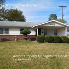 Rental info for 5210 North Johnstown Avenue in the Tulsa area
