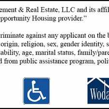 Rental info for Woda Management and Real Estate