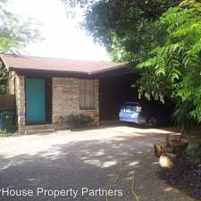 Rental info for 3409 Dolphin Dr in the Austin area