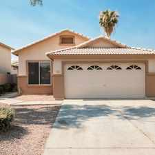 Rental info for Tricon American Homes in the Gilbert area