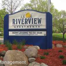 Rental info for 8150 West River Rd in the Brooklyn Park area