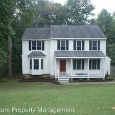 Rental info for 8268 Tarragon Drive in the Mechanicsville area