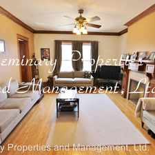 Rental info for 3945 N. Hamilton Second Floor in the North Center area