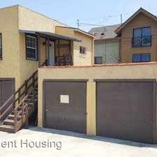 Rental info for 1300 1/2 W 29th St. in the Los Angeles area