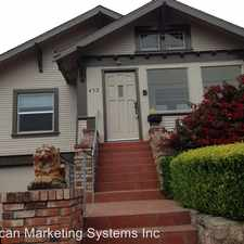 Rental info for 432 Railroad avenue in the South San Francisco area