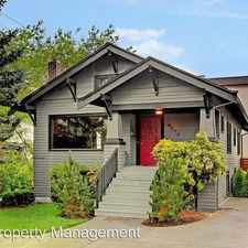 Rental info for 5503 4th AVE NW in the Phinney Ridge area