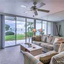 Rental info for 6081 Bahia Del Mar Circle in the St. Petersburg area