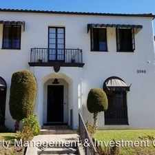 Rental info for 2540 4th Avenue in the Los Angeles area