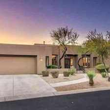 Rental info for 33448 N 74TH Way Scottsdale Four BR, former model home with in the Scottsdale area