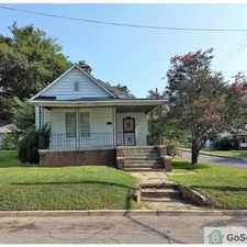 Rental info for Three bedrooms one bath large back yard central heat . Home is one block from elementary school 1/2 block from city Library. in the Wylam area