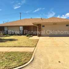 Rental info for Tour This Home Today! in the Oklahoma City area