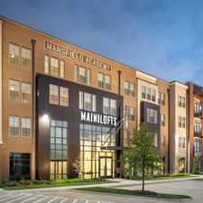 Rental info for Main Street Lofts in the Mansfield area