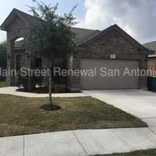 Rental info for Beautiful Brick Home in the San Antonio area