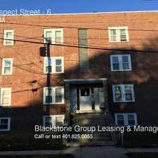 Rental info for 7 Prospect Street in the Cranston area
