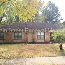 Rental info for Single story charmer ready today! - 6351 Thornfield Dr in the Memphis area