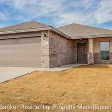 Rental info for 13602 Ave U in the Lubbock area