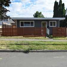 Rental info for SE 17th Ave & SE Tenino St