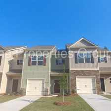 Rental info for Rare brand new townhome for rent!