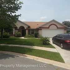 Rental info for 1002 SHELDON COURT in the Oviedo area