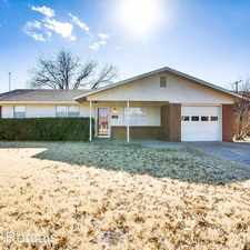 Rental info for 5613 16th Pl in the Lubbock area