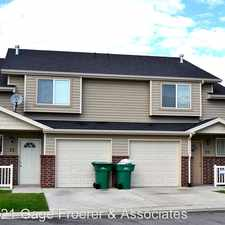 Rental info for 2846 W. 3965 S. #73 in the 84067 area