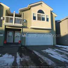 Rental info for Updated town house, 3 bedrooms with a heated two car garage! in the Anchorage area