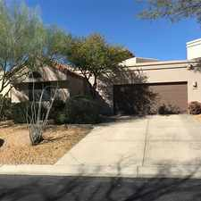 Rental info for Gorgeous North Scottsdale Rental Home