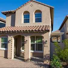 Rental info for Fabulous Vistancia Home in the Westbrook Village area