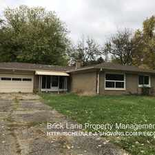 Rental info for 6100 Crooked Creek Dr. in the Indianapolis area