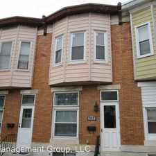 Rental info for 522 South Lehigh Street in the Fifteenth Street area