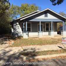 Rental info for 204 RECTOR in the Hot Springs area