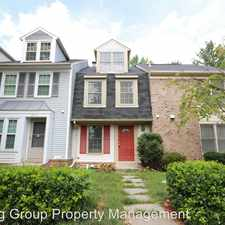 Rental info for 8758 Ravenglass Way in the Montgomery Village area
