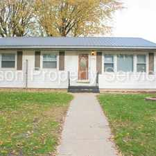 Rental info for 5766 McCasland Avenue in the 46368 area