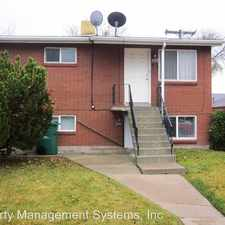 Rental info for 3345 W. 3650 S. in the 84120 area