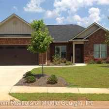 Rental info for 234 Amber Drive in the Warner Robins area