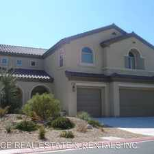 Rental info for 7412 Redbreast CT in the North Las Vegas area