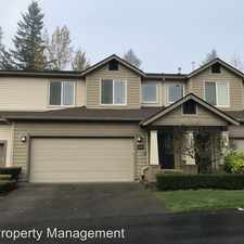 Rental info for 4453 248th Lane SE in the Sammamish area