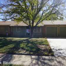 Rental info for 4803 6th Street in the Lubbock area