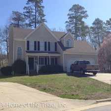 Rental info for 4800 Crofton Springs Court in the Adams Farm area