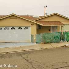 Rental info for 837 N. Camino Alto in the 94590 area