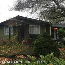 Rental info for 4339 NE Campaign Street in the Cully area