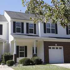 Rental info for 118 Cline Falls Drive in the Holly Springs area