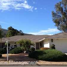 Rental info for 1154 San Pablo Drive in the San Marcos area