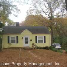 Rental info for 1342 Bethel Road in the Wilmore area