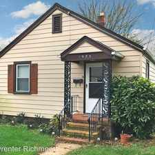 Rental info for 1903 Claiborne St. in the Byrd Park area